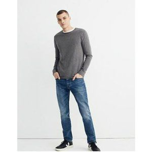 New Madewell Men Crewneck Long-sleeve Tee Size XL